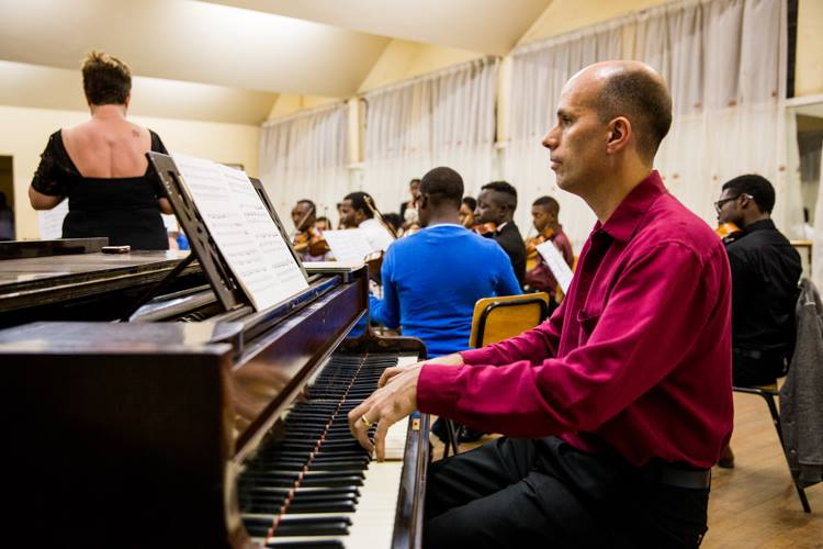 James Laight on Piano