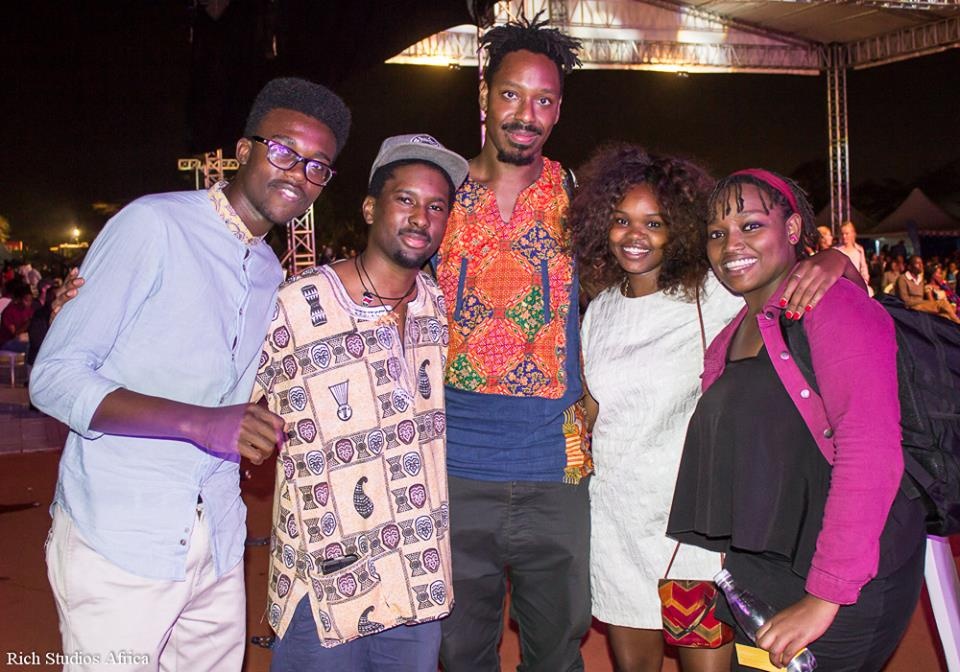 sons of kemet with fans