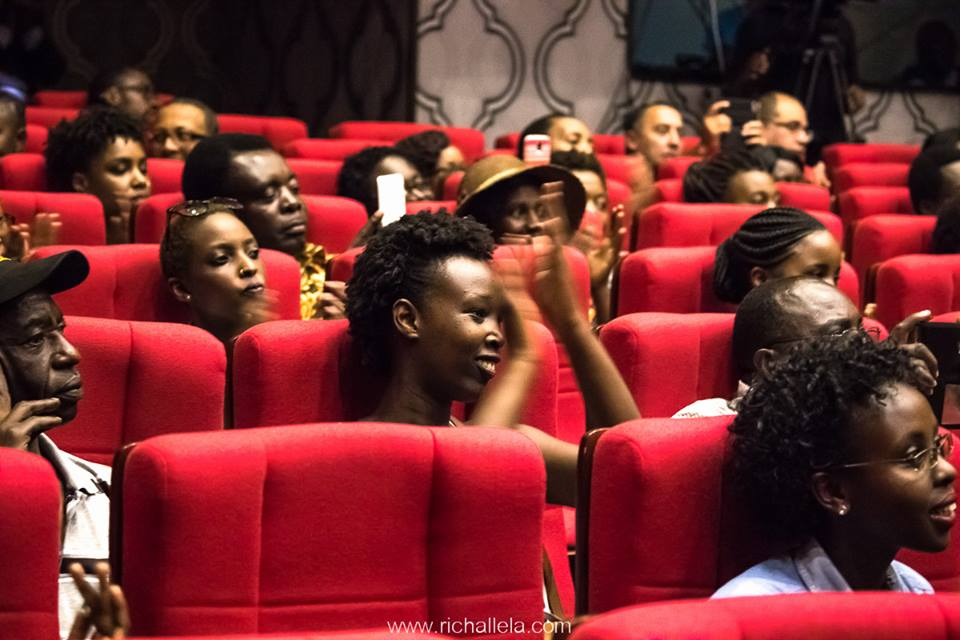 audience members listening to classical music