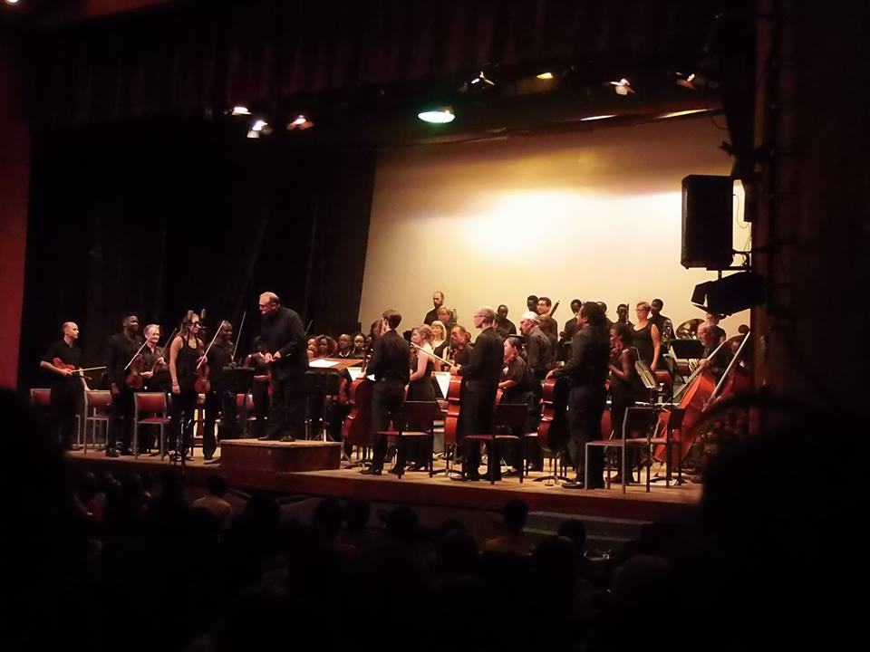 Nairobi Orchestra in after a stellar performance