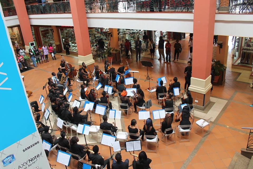 while at Galleria Atrium