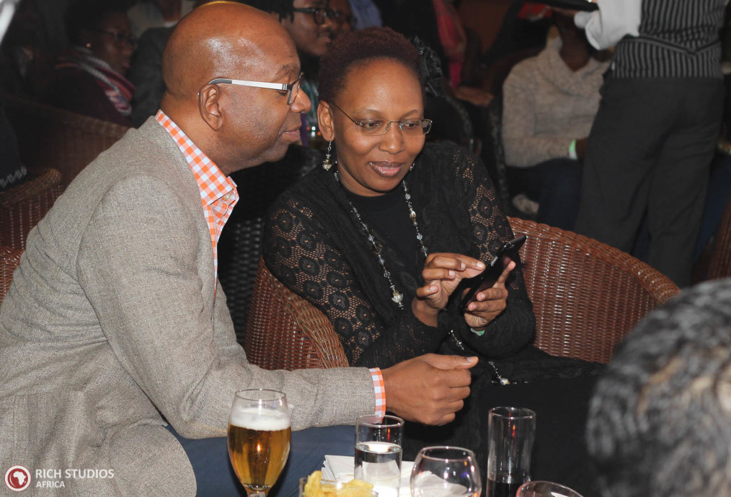Bob Collymore loving njoroge's music playlist