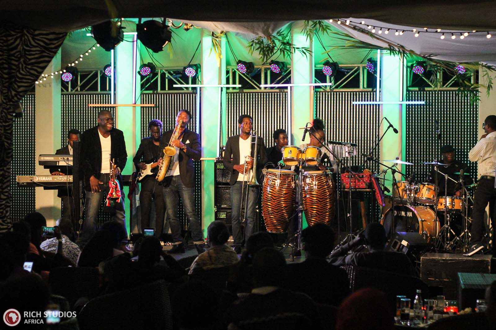 Nairobi horns Project during the SIJF launch