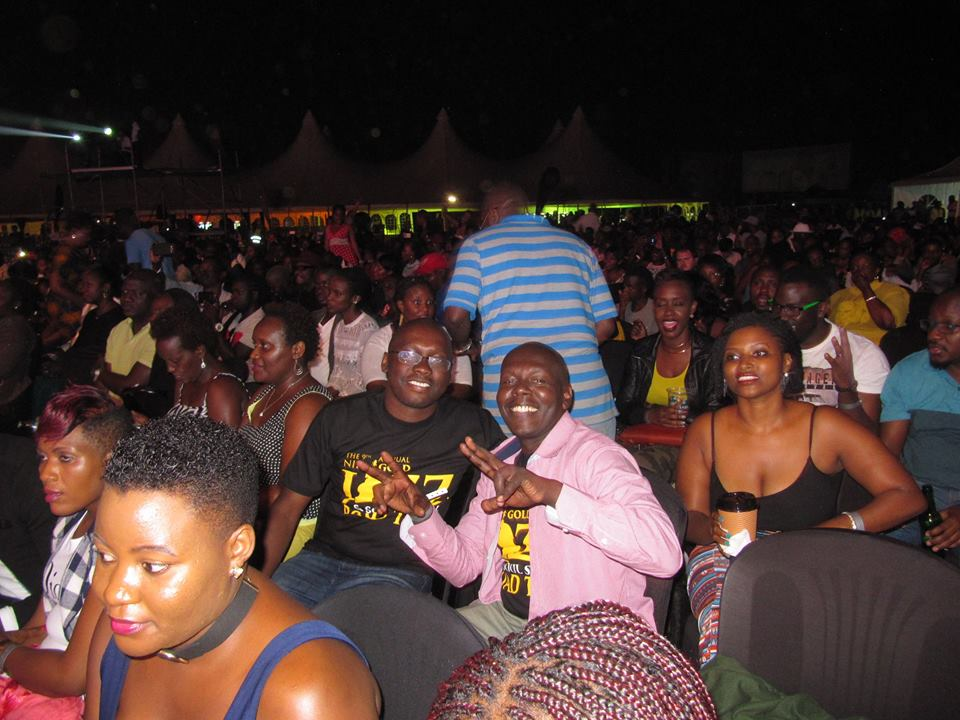 Found some Kenyan in the audience :)