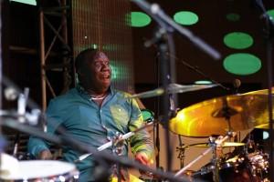 AmaniBaya on drums