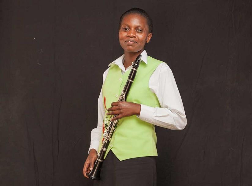 Celine-Akumu-Safaricom Youth Orchestra