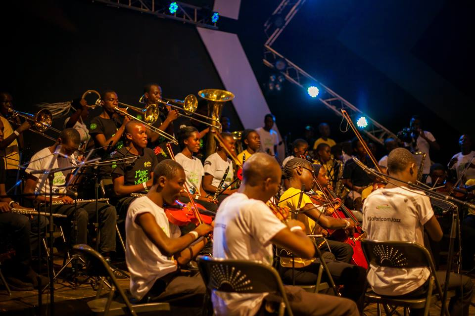 Ghetto classics perfomring at safaricom Jazz 2017 Credits : Mbarathi's edge