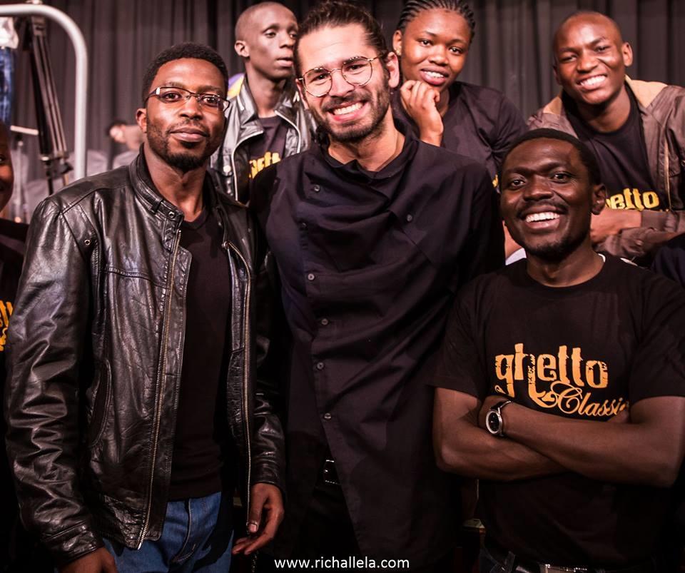 Jimek and members of Ghetto Classics