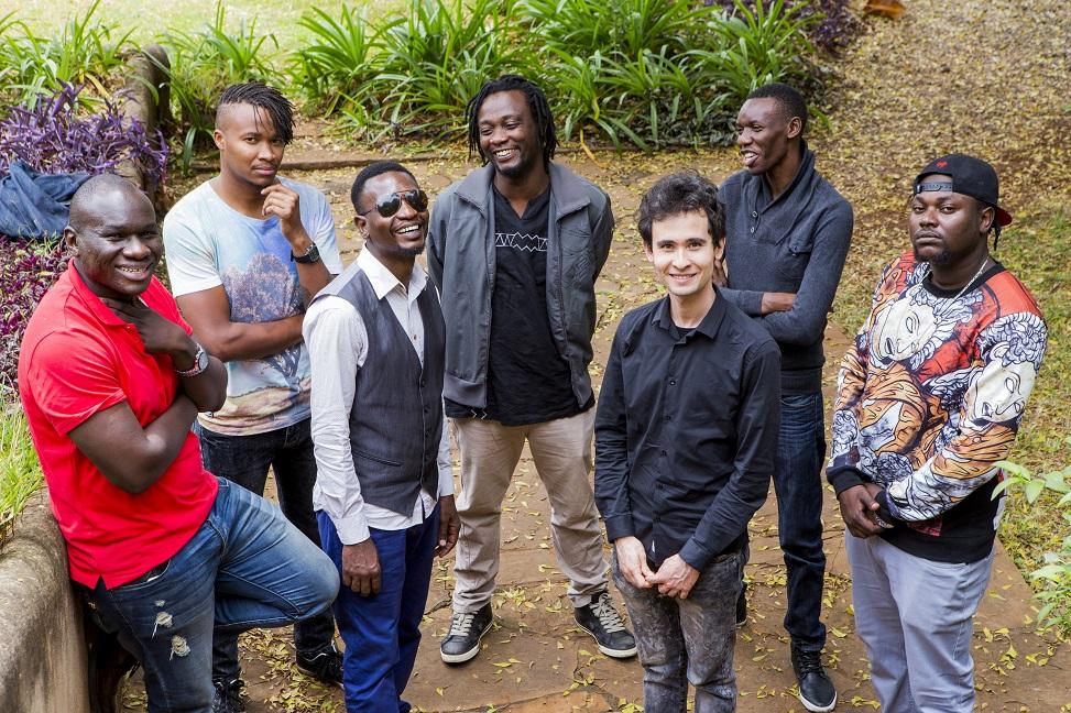 Matteo Di Leonardo with Juma Tutu and Swahili Jazz Band, Mackinlay Mutsembi and Rabai Mokua