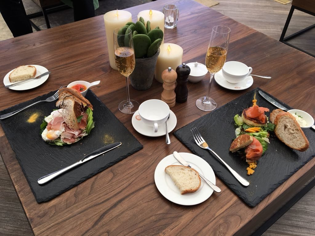 Breakfast delight at Karel T Lounge