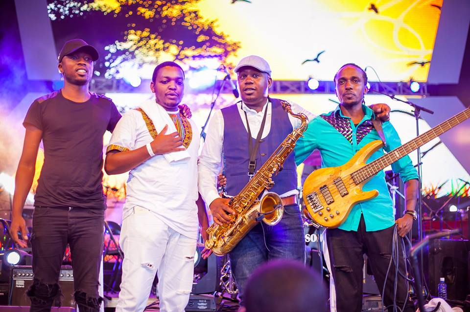 Edward Parseen and Different Faces band - Mbarathi's Edge