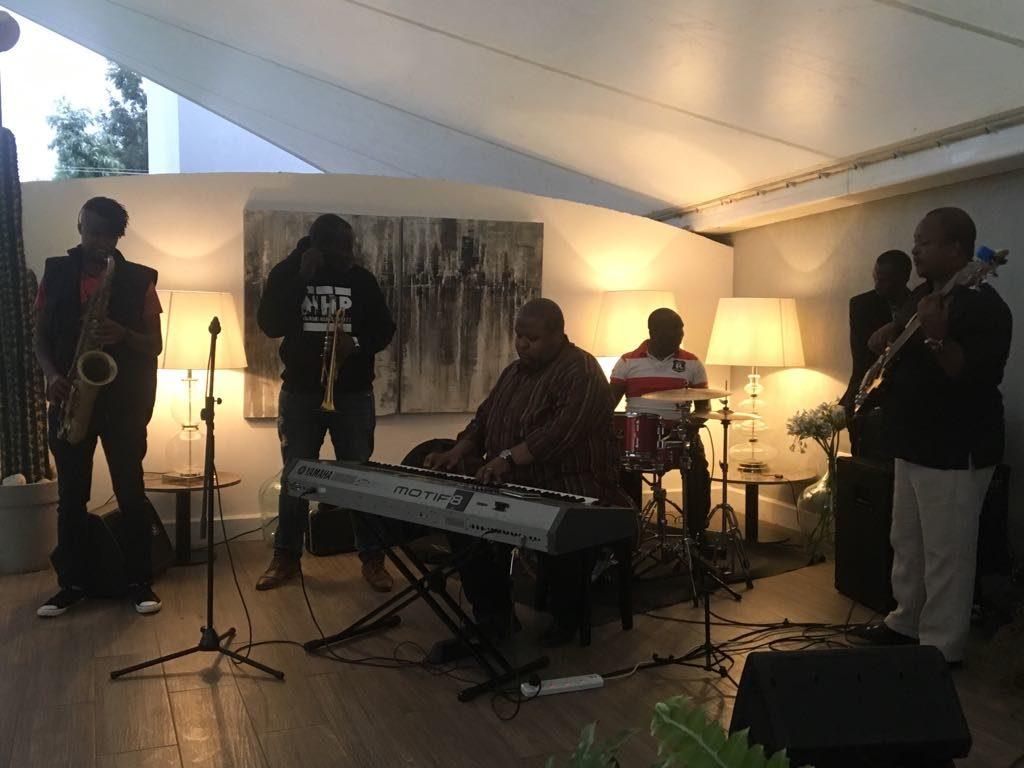 he Jazz Band on Saturday night