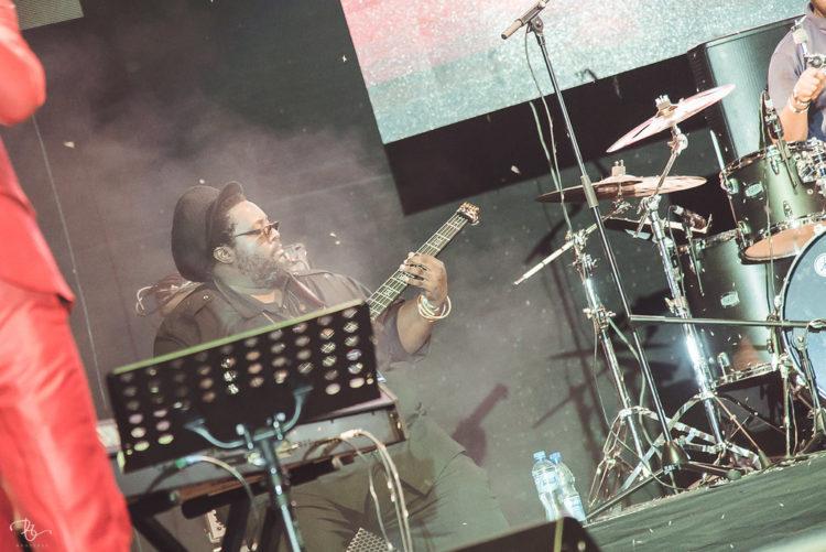 Tshaka on bass