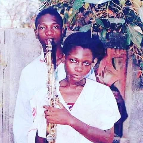 Juma Tutu and his sister Nyota Ndogo