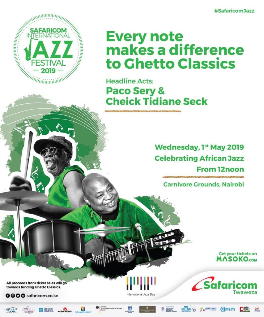Safaricom Jazz day offical poster