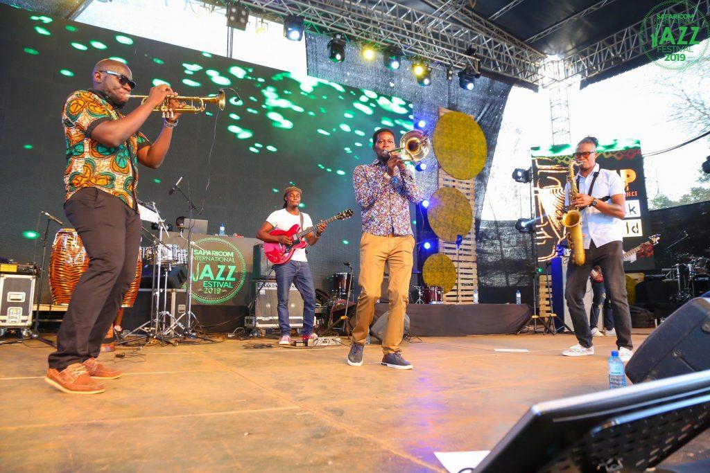 Nairobi Horns Project Perform at Safaricom Jazz festival